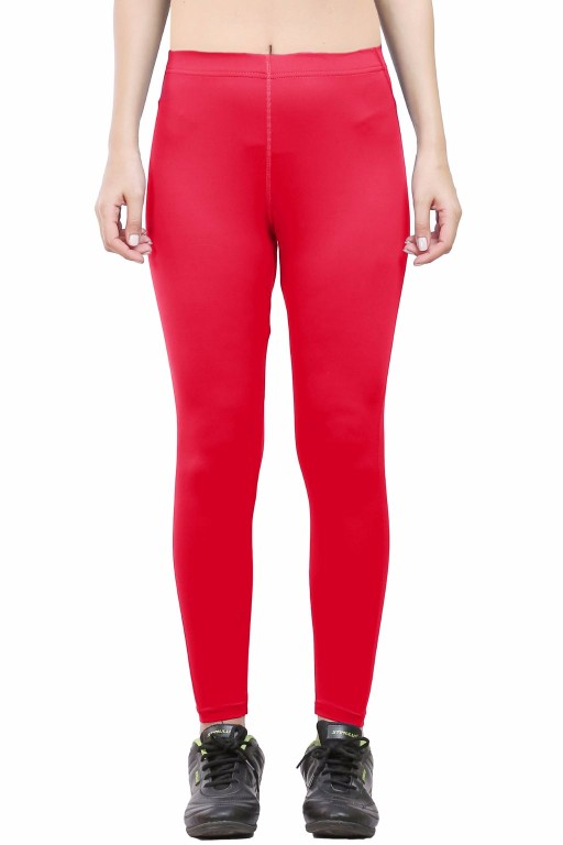 ARMR Women Red SKYN Full-Length Tights