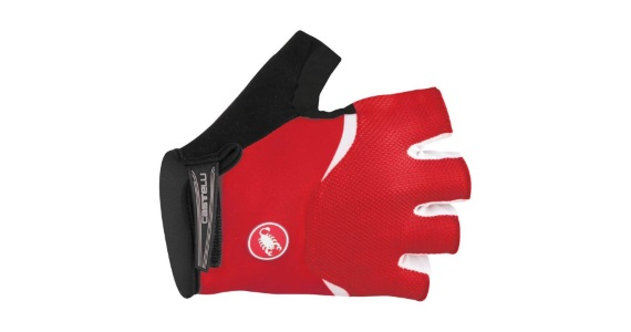 Castelli Arenberg Glove-Gel Red