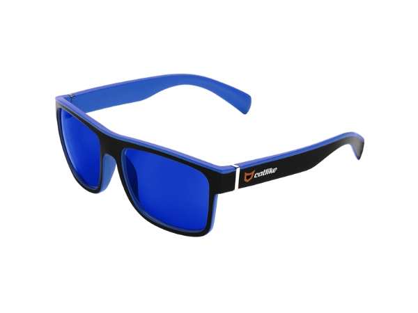 Catlike Sunglasses - Black/Blue