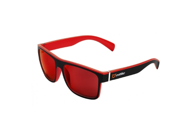 Catlike Sunglasses - Black/Red