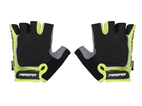 Firefox Cycling Gloves - Green/Black