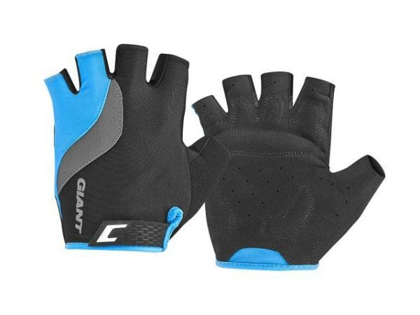 Giant Tour Short Finger Gloves - Black/Blue