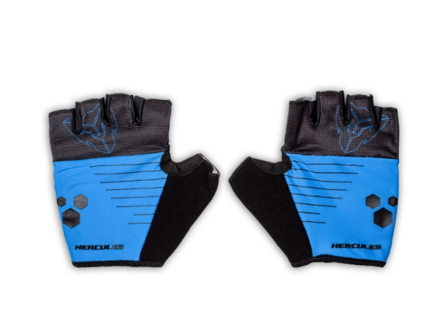 Hercules Cycling Gloves - Blue