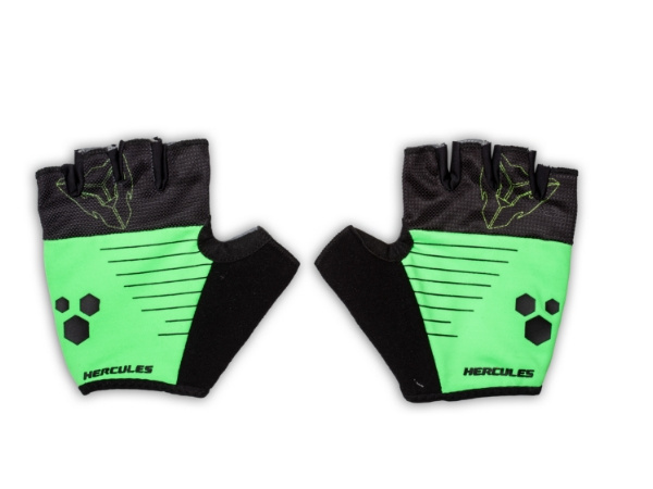 Hercules Cycling Gloves - Green