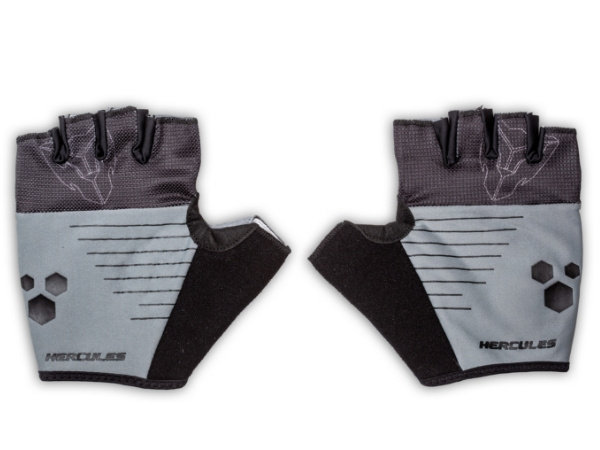 Hercules Cycling Gloves - Grey