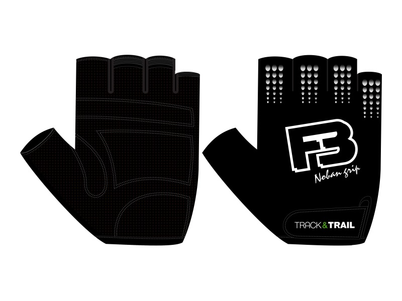 Track & Trail F3 Basic Gloves Black