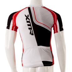 XMR Cycling Jersey - White/Red