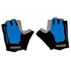 XMR Gloves Blue with Black