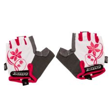 XMR Gloves Ladies White with Grey