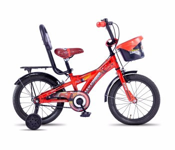 Hero Disney 16T Cars Junior Cycle With Carrier (2017)