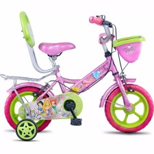 Hero Disney Princess 12T Junior Girl Cycle With Carrier (2017)