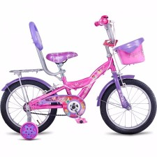 Hero Disney Princess 16T Junior Girl Cycle With Carrier (2017)