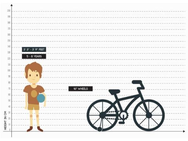 Hero Quicker 16T Size Chart