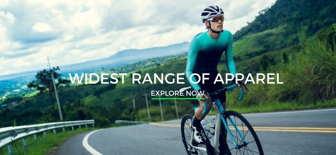 Widest range of Apparels