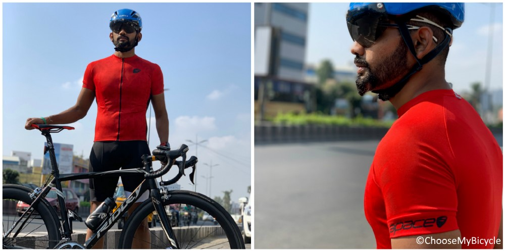 Apace Chase Pro Fit Jersey - Red Review