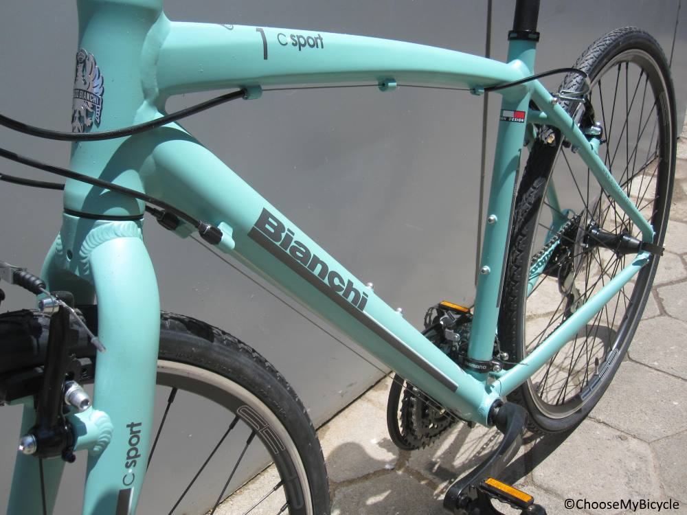 Bianchi C-Sport 1 (2017) Frame,Fit and Comfort