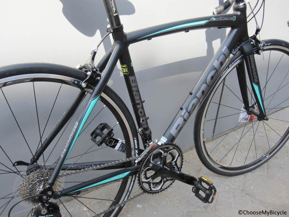 Bianchi Via Nirone 7 (105) (2017) Frame,Fit and Comfort