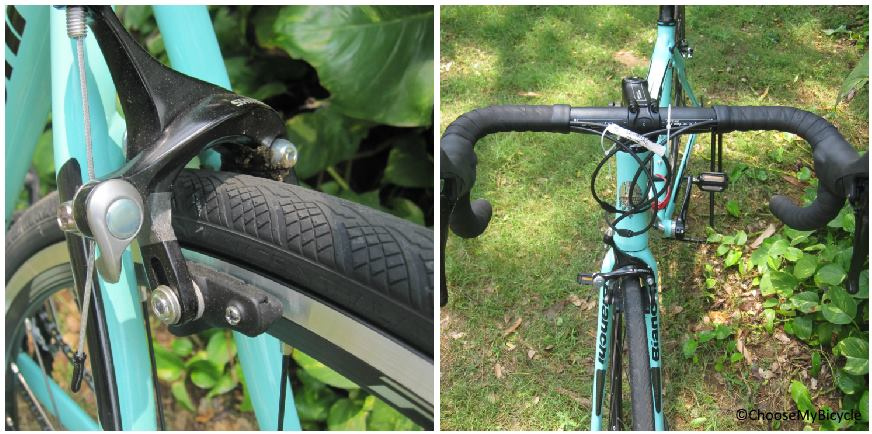 Bianchi Via Nirone 7 (105) (2018) Brakes and Steering
