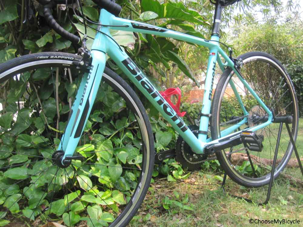 Bianchi Via Nirone 7 (105) (2018) Frame, Fit and Comfort