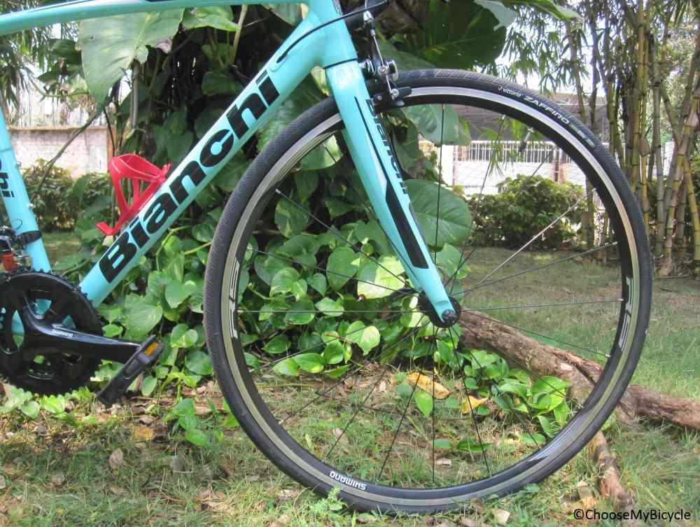 Bianchi Via Nirone 7 (105) (2018) Tires
