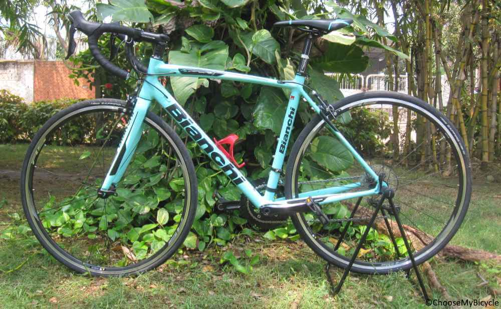 6152ace1889 Bianchi Via Nirone 7 (105) (2018) Expert Review | ChooseMyBicycle.com