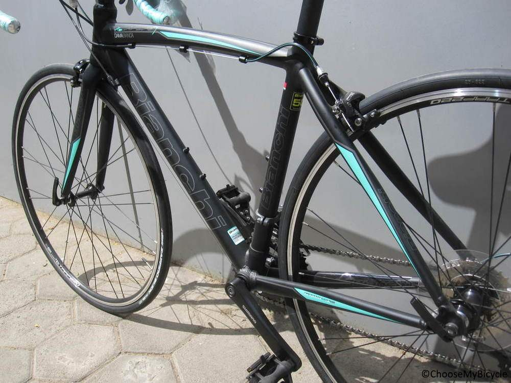 Bianchi Via Nirone 7 Dama Bianca [Claris] (2017) Frame, Fit and Comfort