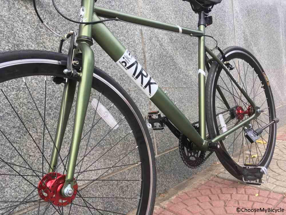 Bike Ark Fixie Orb (2019) Frame