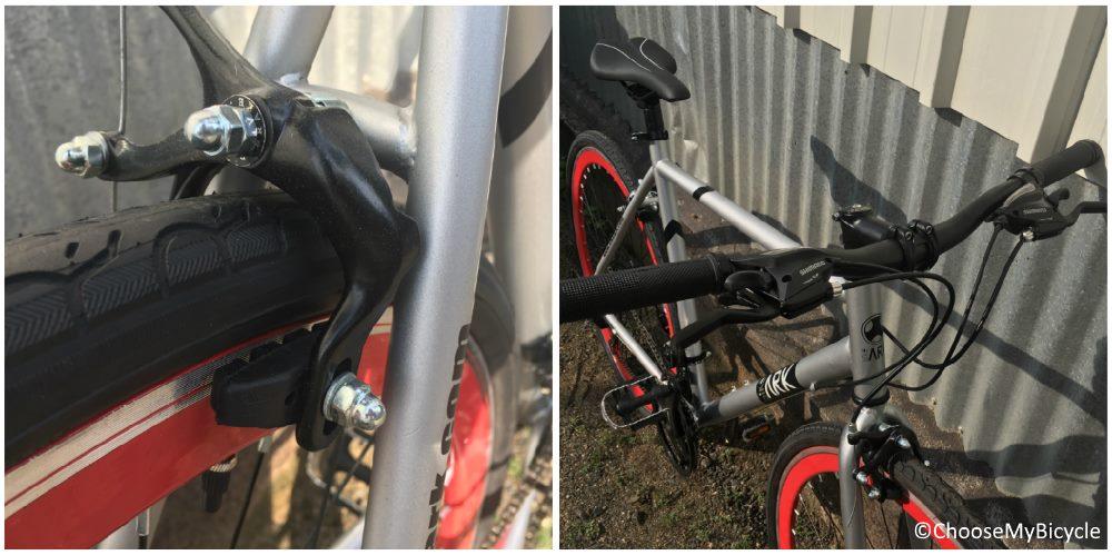 Bike Ark Jaz Brakes and Steering
