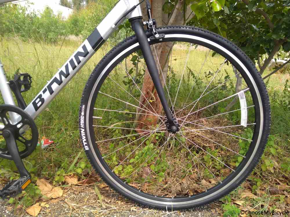 Btwin Triban 100 Flatbar (2018) Tires