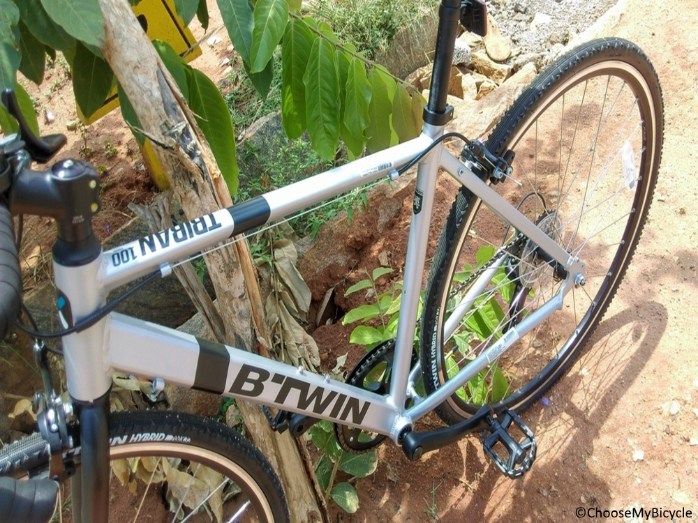 Btwin Triban 100 (2017) Frame, Fit and Comfort