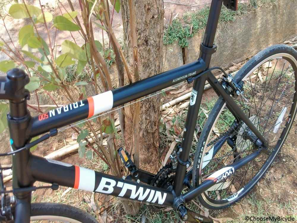 Btwin Triban 500 (2017) Frame, Fit and Comfort