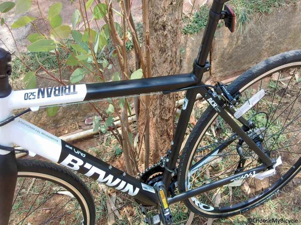 Btwin Triban 520 (2017) Frame, Fit and Comfort