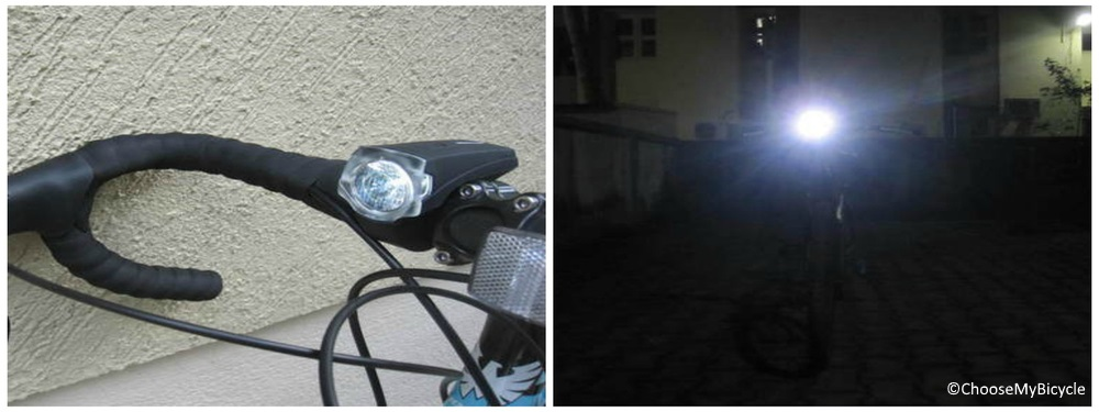 Btwin VIOO 700 USB Front Light Review