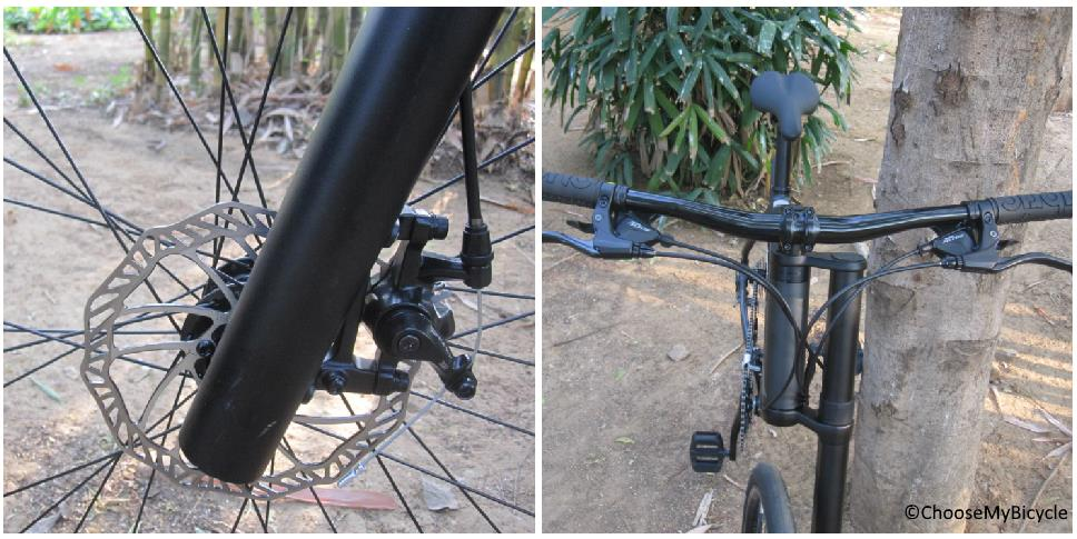 Cannondale Bad Boy 4 (2018) Brakes and Steering