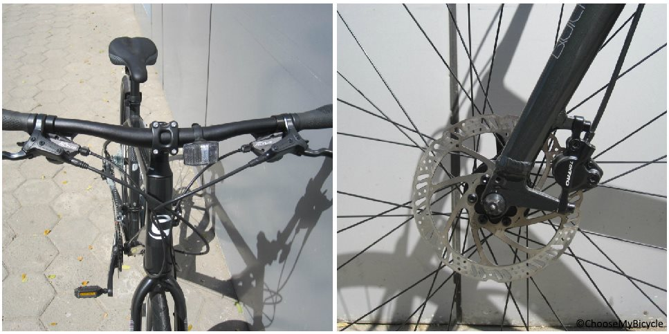Cannondale Quick 5 Disc (2017) Brakes and Steering