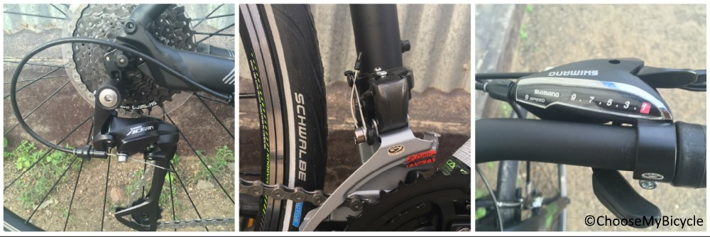 Cannondale Quick 6 (2017) Gearing