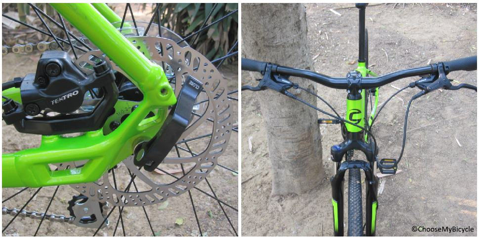 Cannondale Quick CX 4 (2018) Brakes and Steering