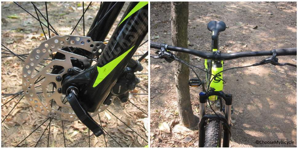 Cannondale Trail 4 (27.5) (2018) Brakes and Steering
