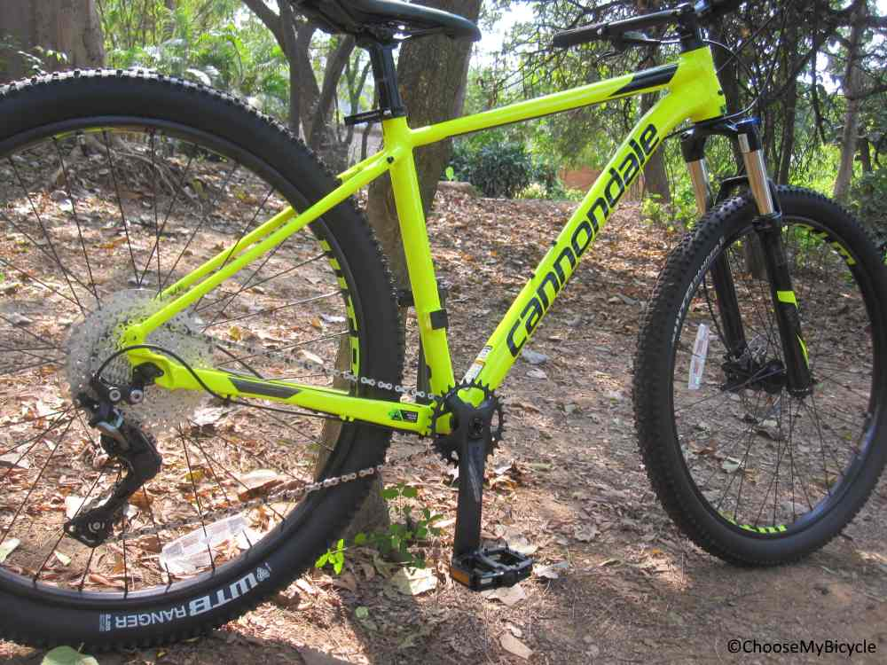 Cannondale Trail 4 (27.5) (2018) Frame, Fit and Comfort