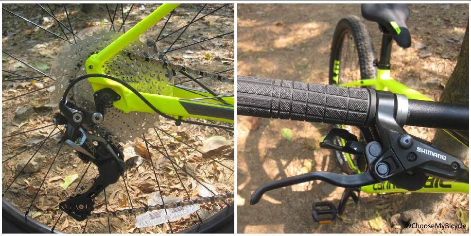 Cannondale Trail 4 (27.5) (2018) Gearing