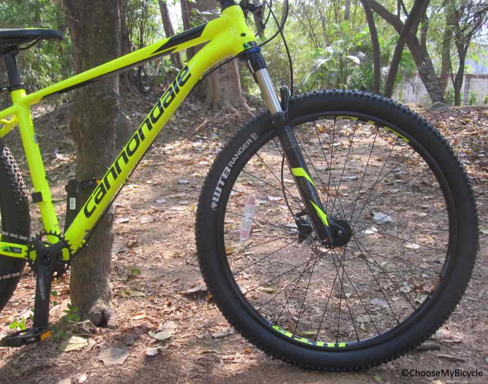 Cannondale Trail 4 (27.5) (2018) Tires