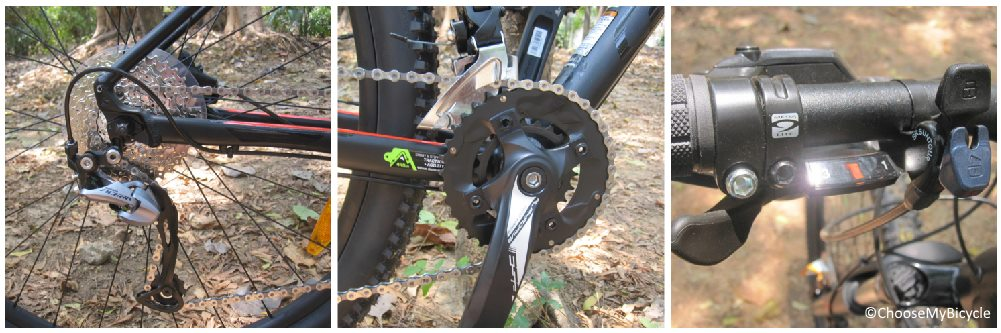 Cannondale Trail 6 (29) (2018) Gearing