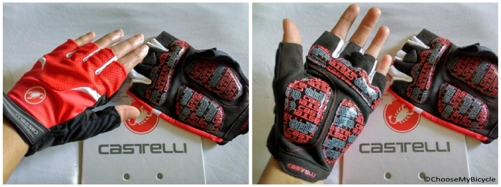 Castelli Arenberg Glove-Gel Red  Usage, Fit and Sizes