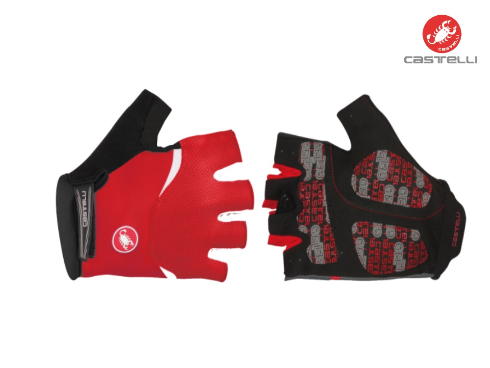 Castelli Arenberg Glove-Gel Red Review