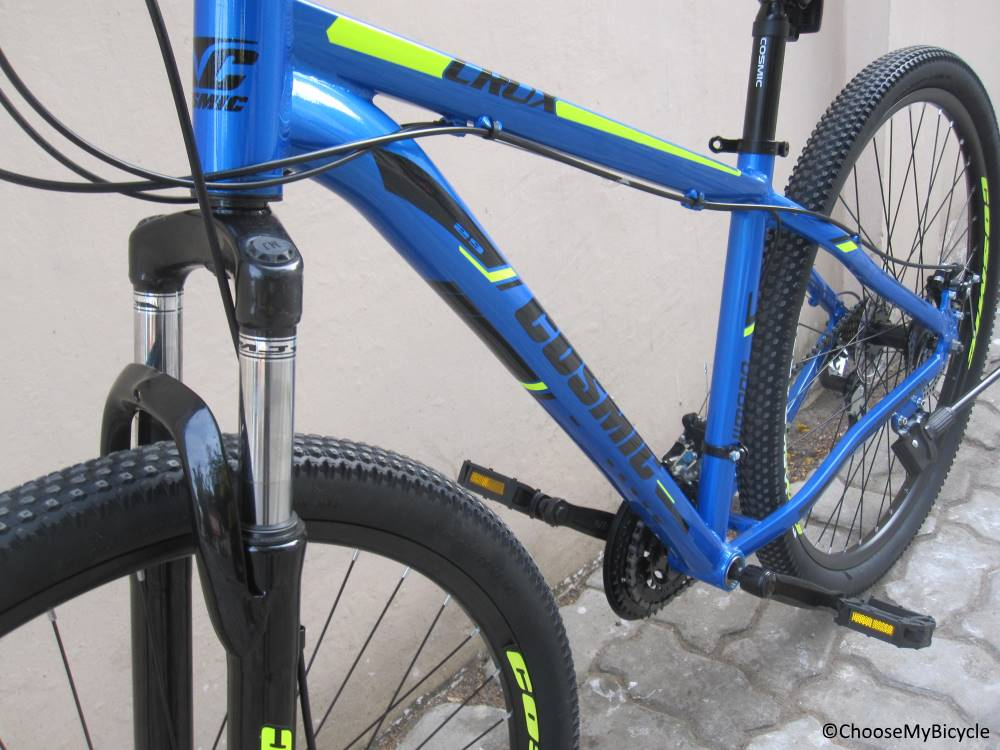 Cosmic Crux 29 Frame, Fit an Comfort