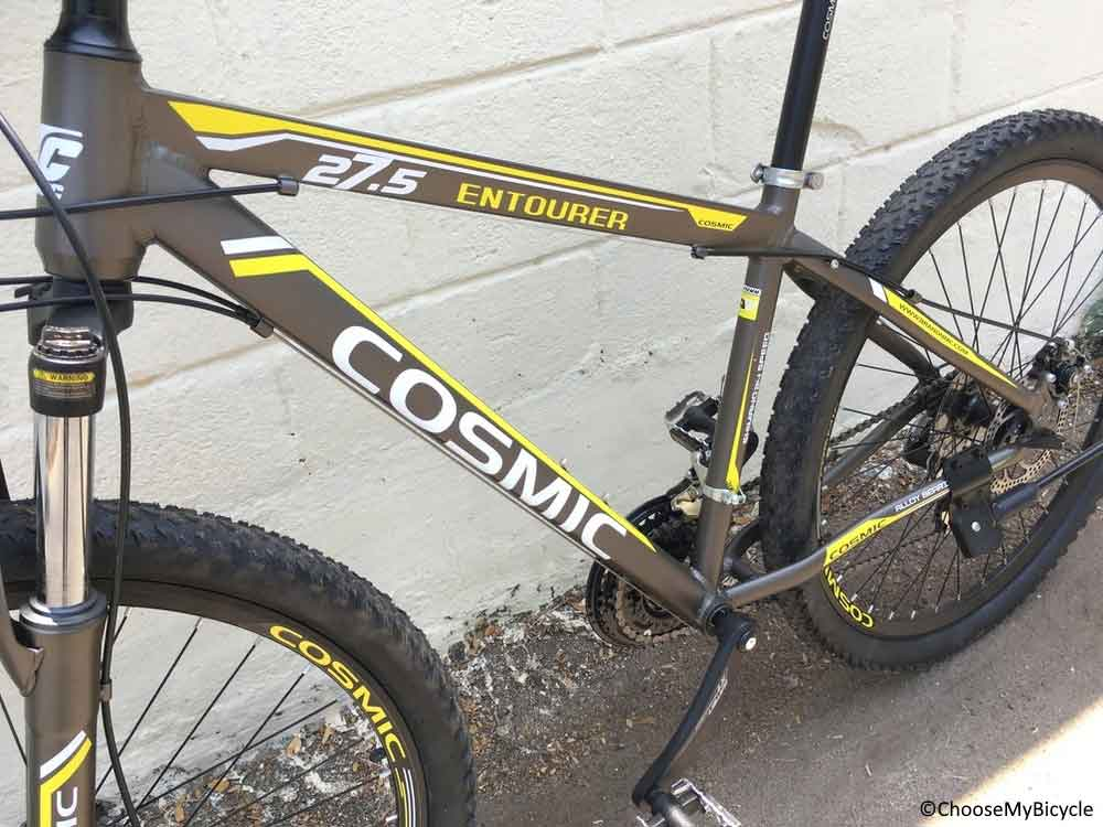 Cosmic Entourer Alloy 24SP 27.5 (2016) Frame, Fit and Comfort