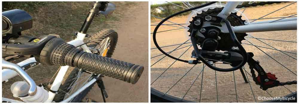 Cosmic Jus Bike Steel 21 Speed 26 (2016) Gearing