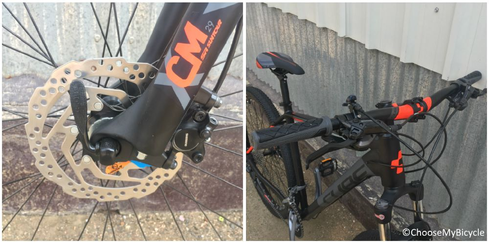 Cube Aim SL 29er (2017) Brakes and Steering