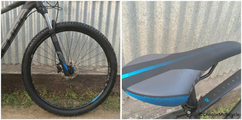 Cube Attention 29er (2017) Wheels and Saddle