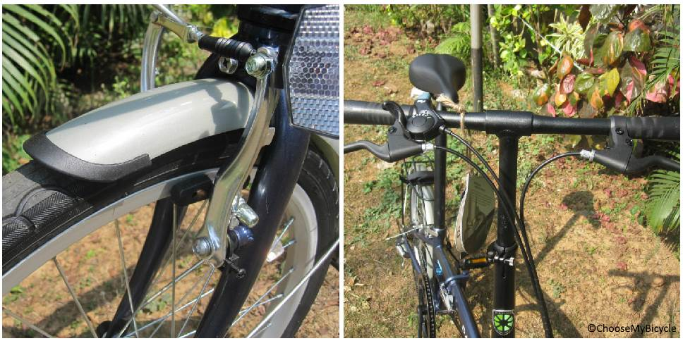 Dahon SUV D6 (2018) Brakes and Steering